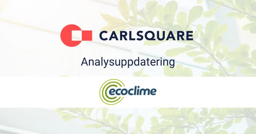 Analysuppdatering ecoclime